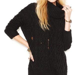 •Free People• Tattered Sweater